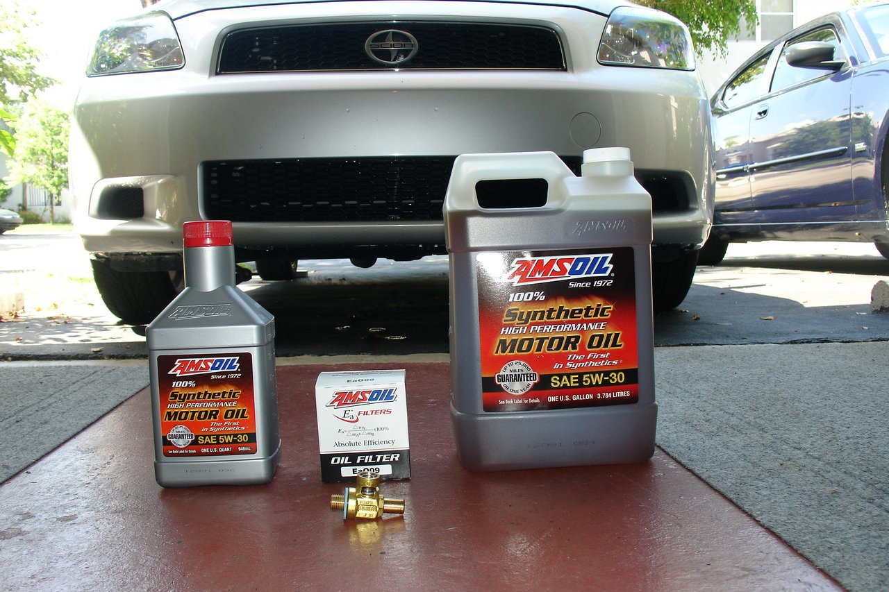 2007 scion tc amsoil change